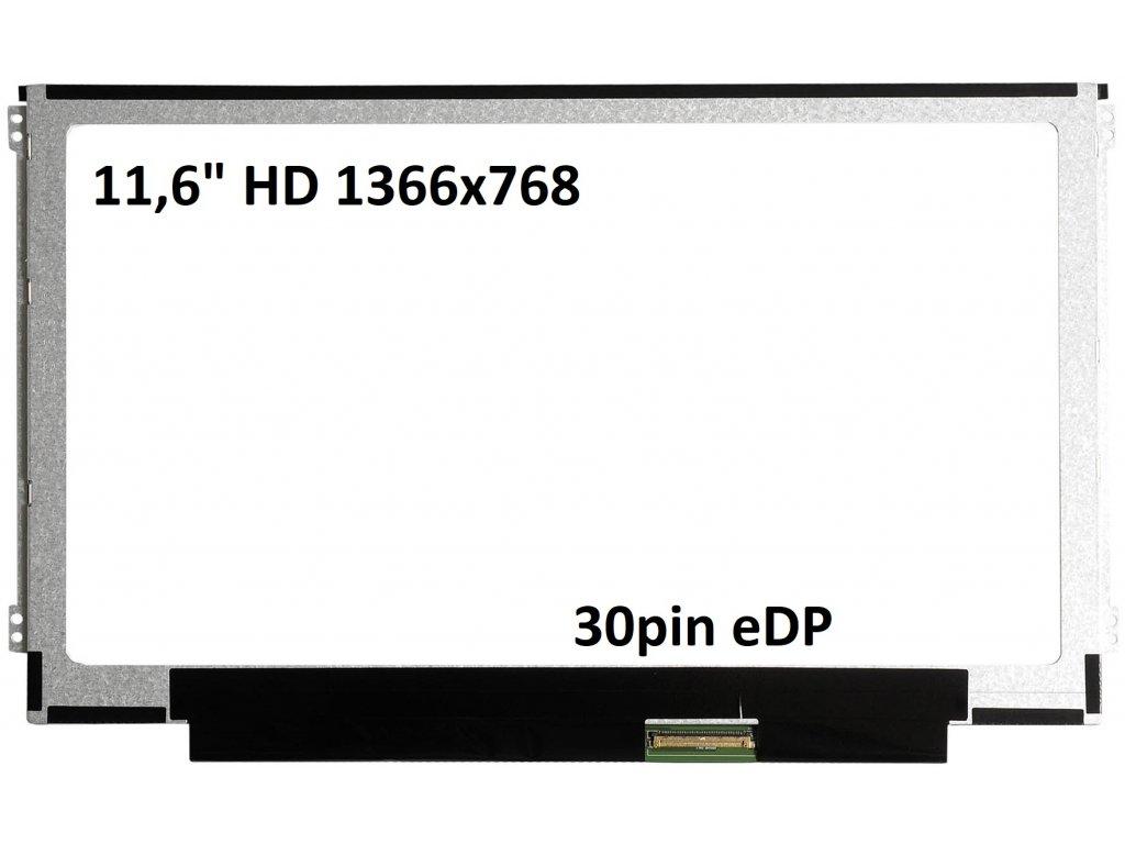 11,6 HD 40pin eDP