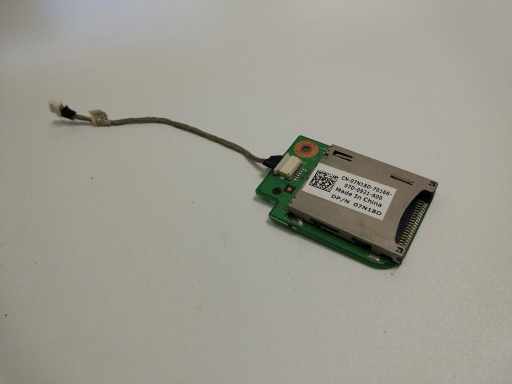Dell Inspiron 15R N5010 M5010 čtečka SD karet