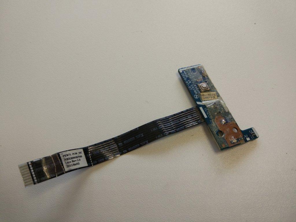 Acer 5253 tlačítko zapínání