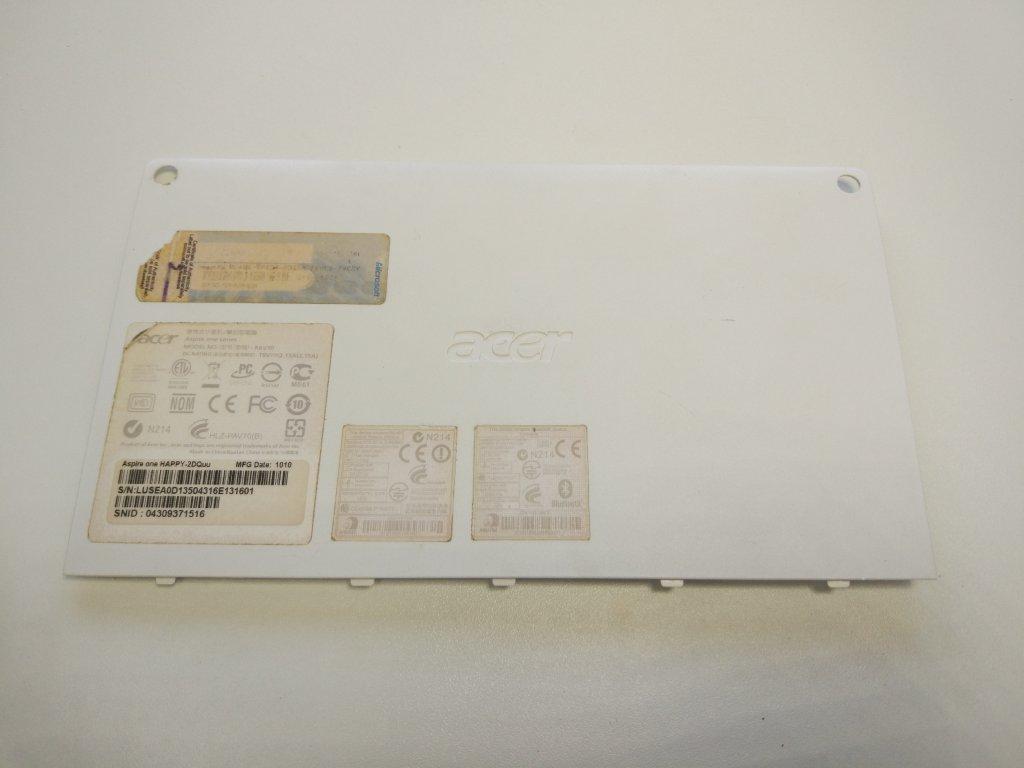 Acer One D255 Happy D260 spodní kryt