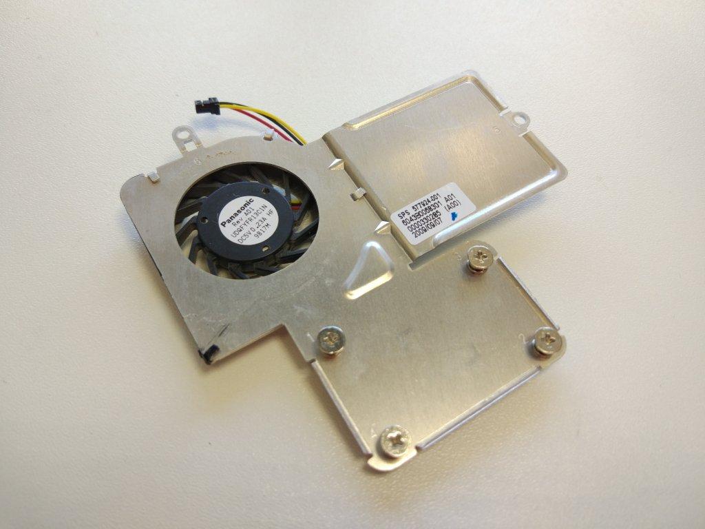 HP Mini 5101 ventilátor chlazení