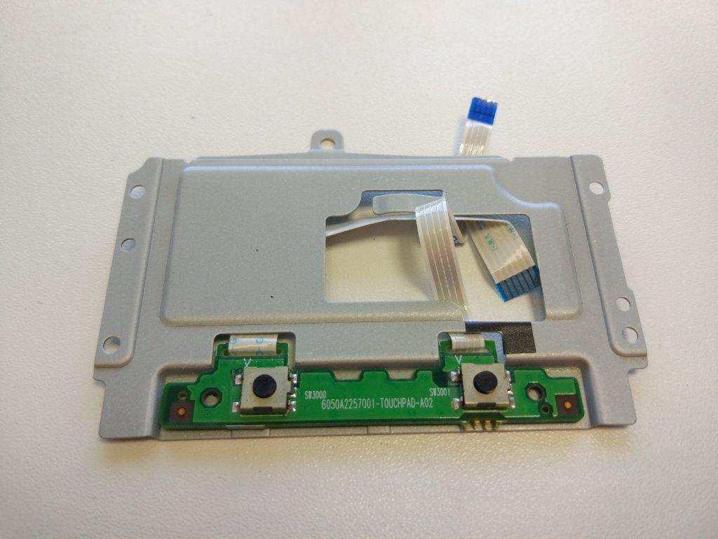 HP Mini 5101 tlačítka touchpadu