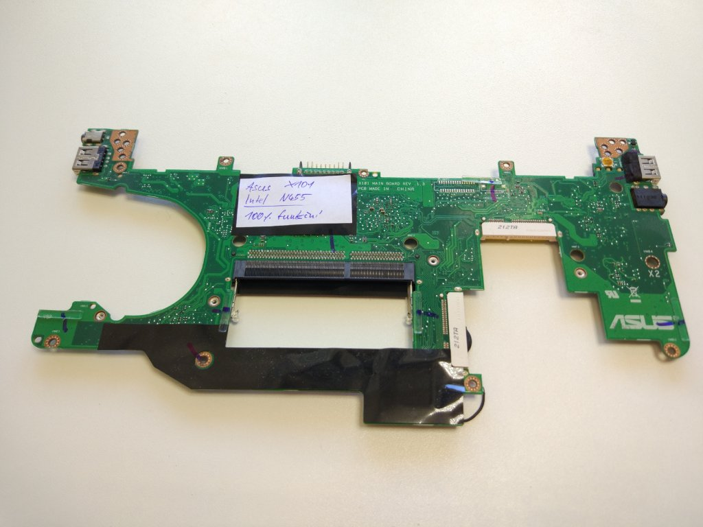Asus Eee PC x101 základní deska