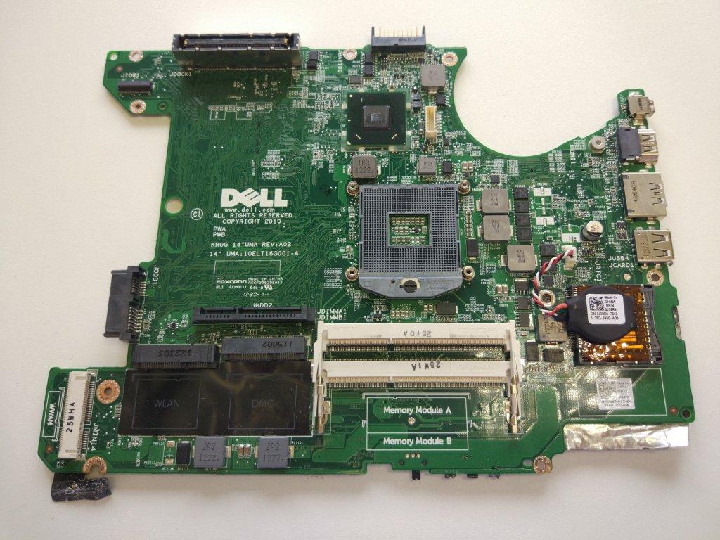 Dell E5420 základní deska Intel DDR3