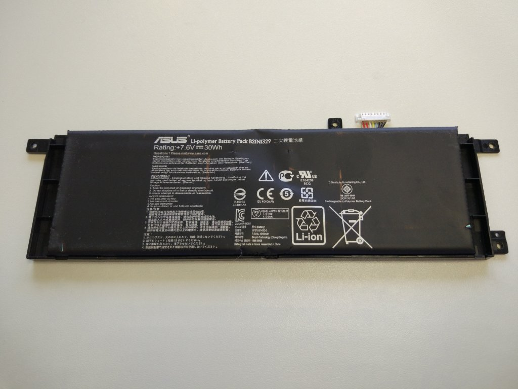 Asus X453M baterie