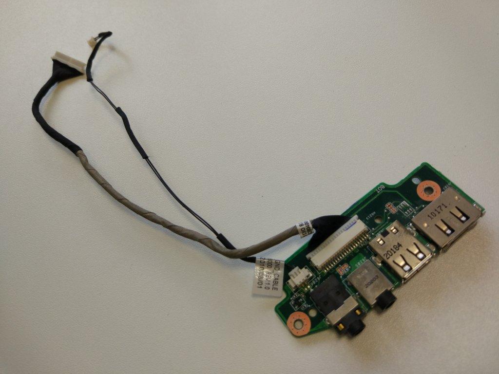 Asus N52 N52D USB konektory audio jack