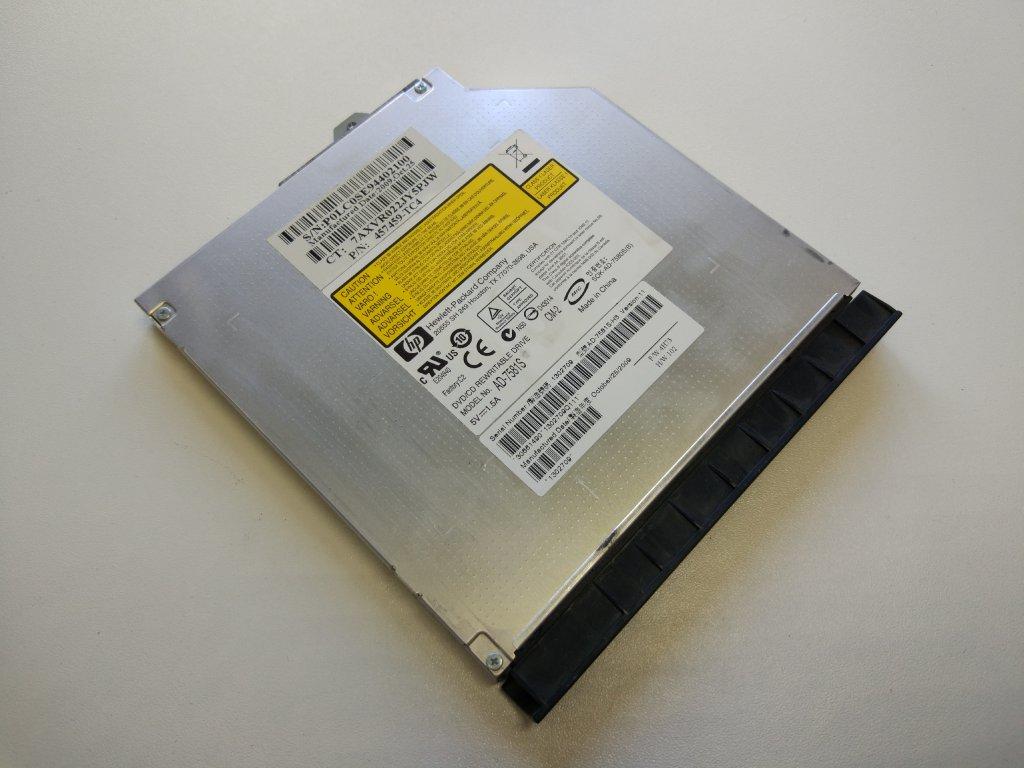 HP ProBook 6545b 6555b 6550b optická mechanika CD DVD