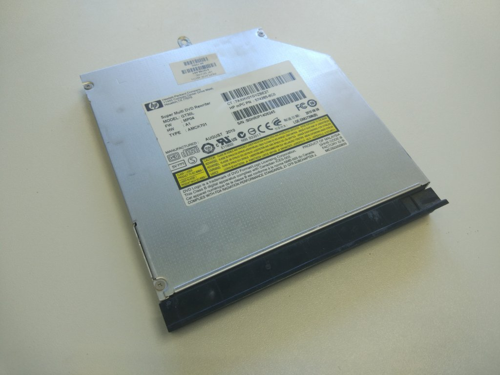 HP 4520s 4525s optická mechanika CD DVD