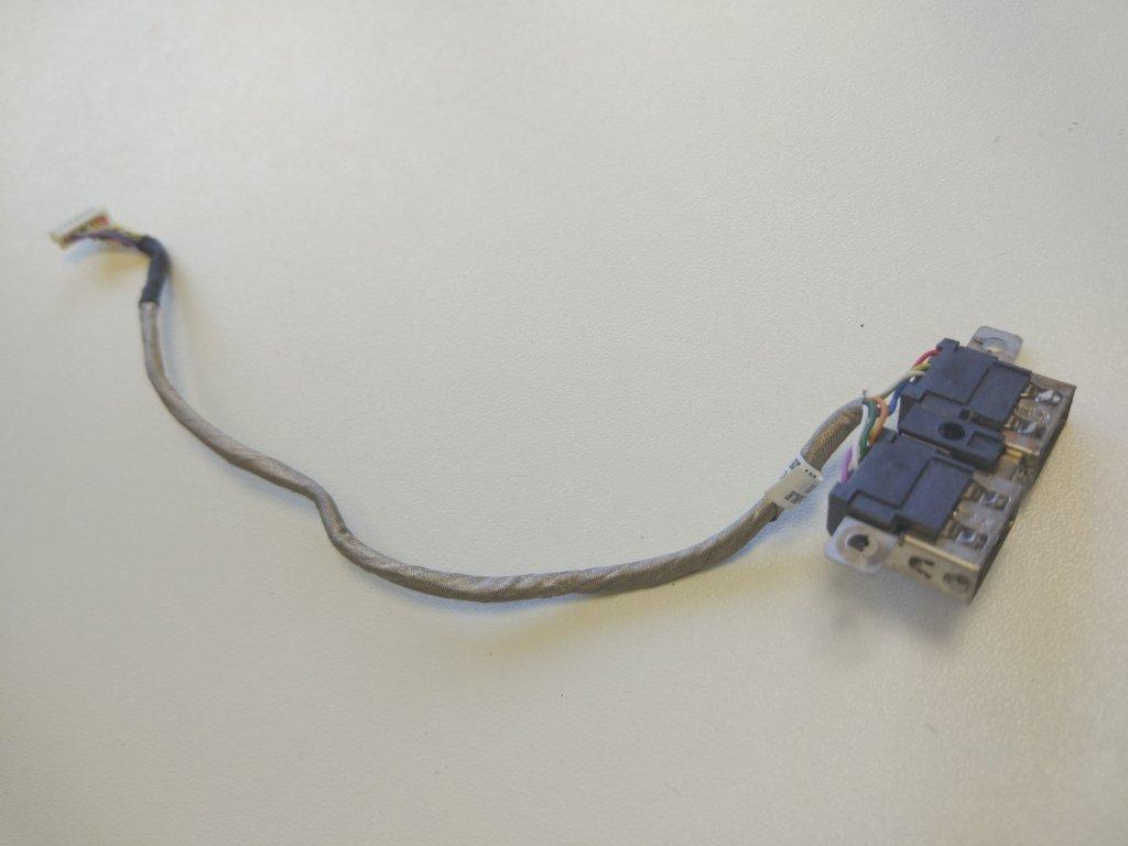 HP 4520s 4525s USB konektory