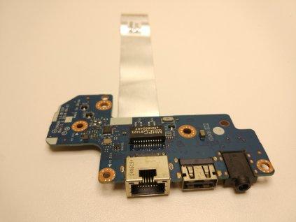 HP 430 G2 USB audio jack RJ45 konektory