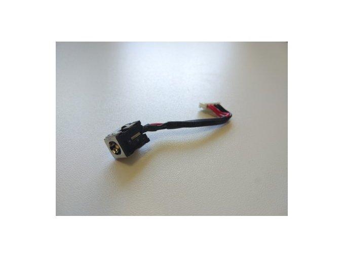 Asus K50 - napájecí konektor s kabelem