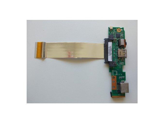Asus Eee PC 1001px - zapínání konektory