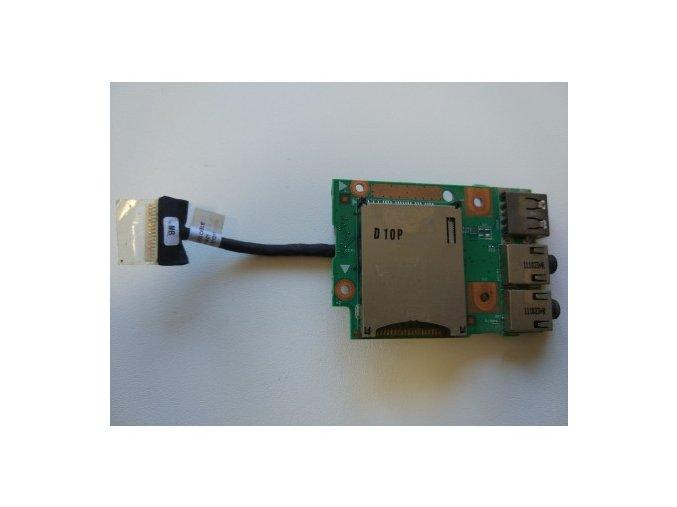 Lenovo Z570 B575 B570 audio USB čtečka SD karet