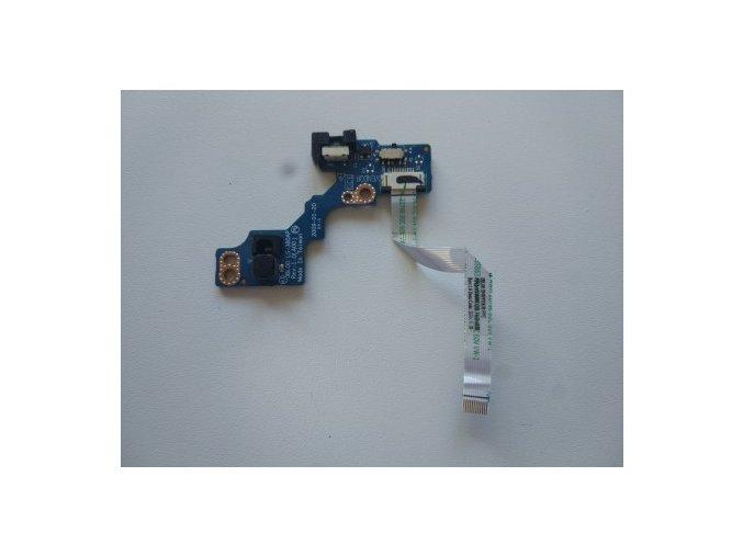 Dell Latitude E6400 - tlačítko zapínání