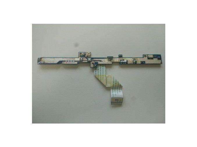 Acer Aspire 5530 - tlačítka zapínání + LED