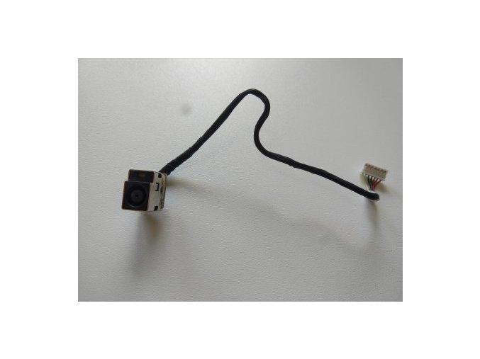 HP Pavilion G62 - napájecí konektor