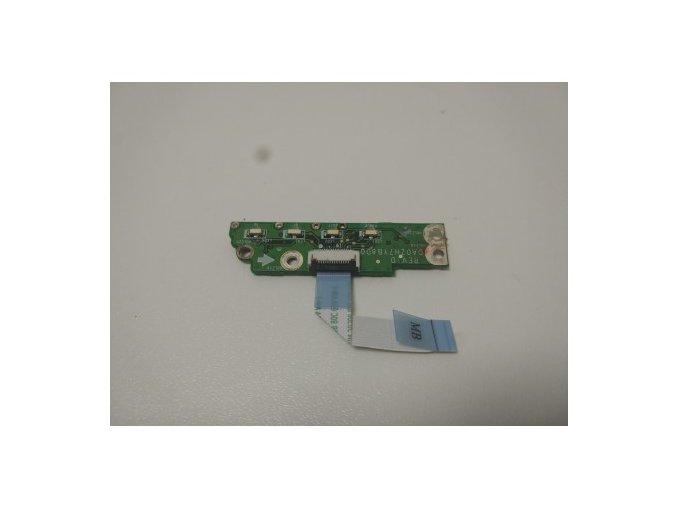 Acer One 752 - LED diody, deska, přepínání