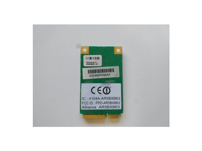 WiFi modul AR5BXB63 802.11g Wireless Mini PCI-E
