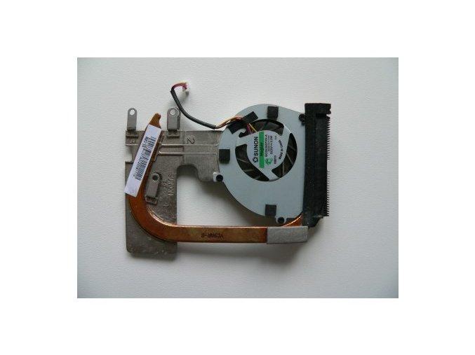 Toshiba Satellite T130 - chlazení, ventilátor