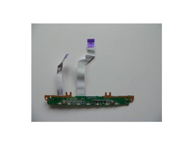 Toshiba Satellite T130 - tlačítka touchpadu