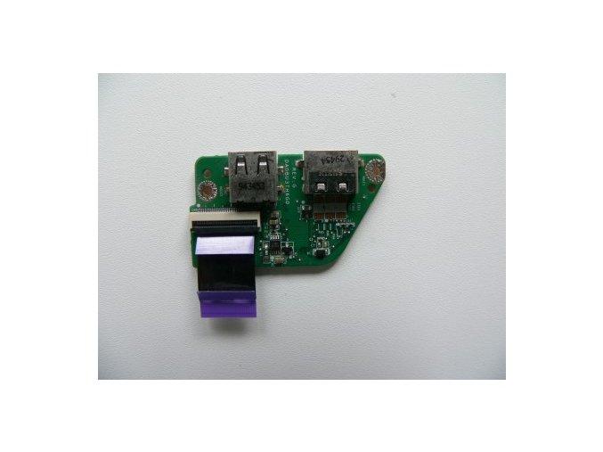 Toshiba Satellite T130 T135 - USB HDMI konektory