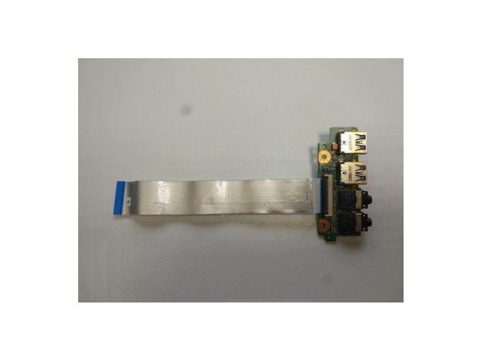 Asus N56 N56V USB 3,5 jack konektory