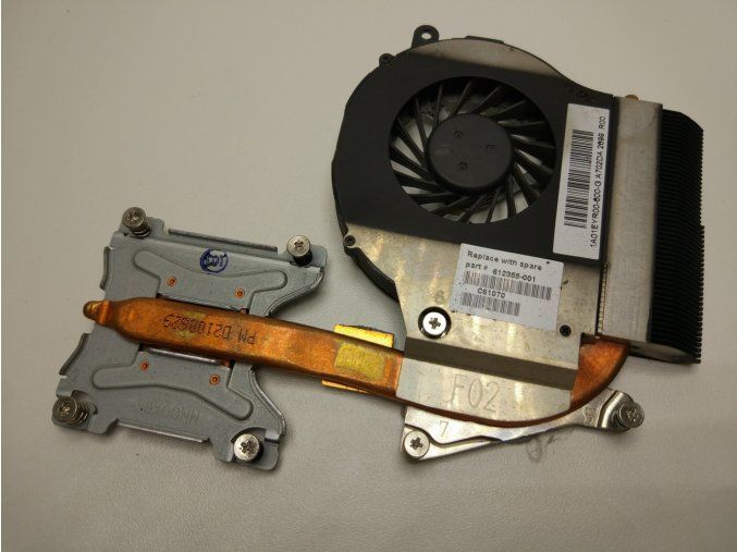 HP G62 CQ62 ventilátor chlazení