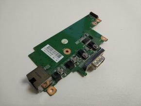 HP 8560p tlačítka zapínání + RJ45 board