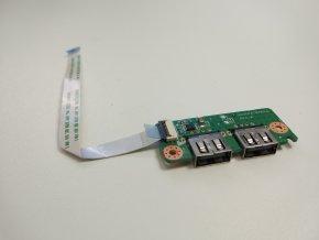 Packard Bell ENME69BMP USB konektory