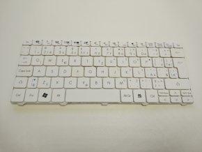 Acer One D255 Happy D260 klávesnice bílá