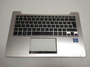 Asus X202E palmrest s klávesnicí