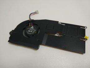 Asus X202E ventilátor, chlazení