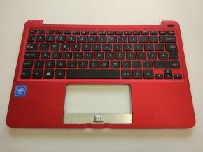 Asus X205T palmrest s klávesnicí