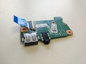Asus X453M USB audio jack konektory