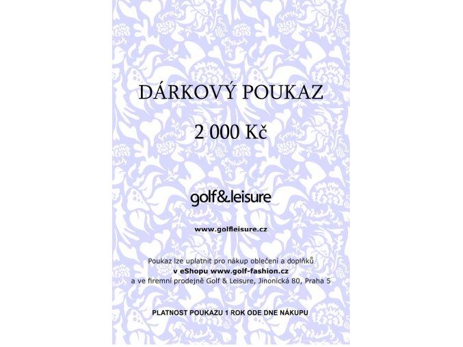 Voucher 2000 E shop