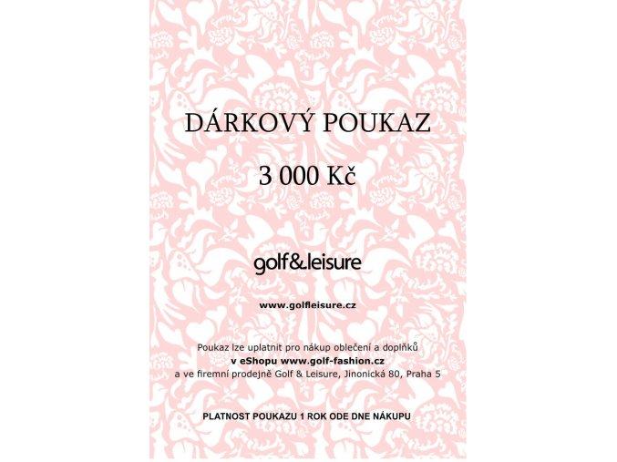 Voucher 3000 E shop