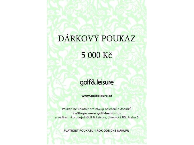 Voucher 5000 E shop