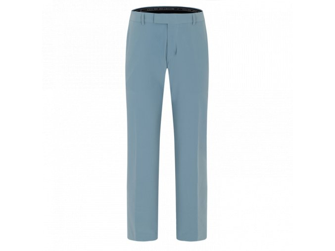 Oscar Jacobson Laurent Stretch Trouser Smokeblue 51537850 202 Front normal