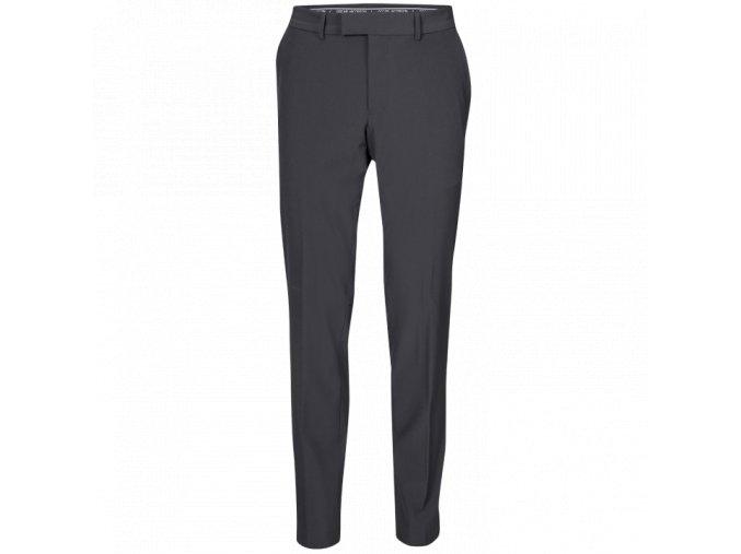 Oscar Jacobson Laurent Trousers black 51537850 310 front normal