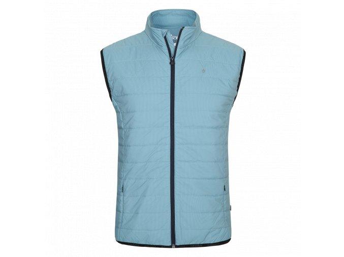 Oscar Jacobson Marcel Vest Smokeblue 40127704 202 Front