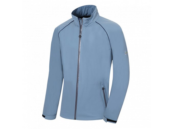 Oscar Jacobson Boris Jacket Smokeblue 81649642 202 Front