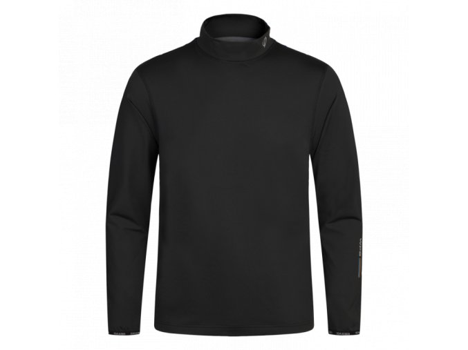oscar jacobson ron thermal turtleneck black 64548925 311 front normal