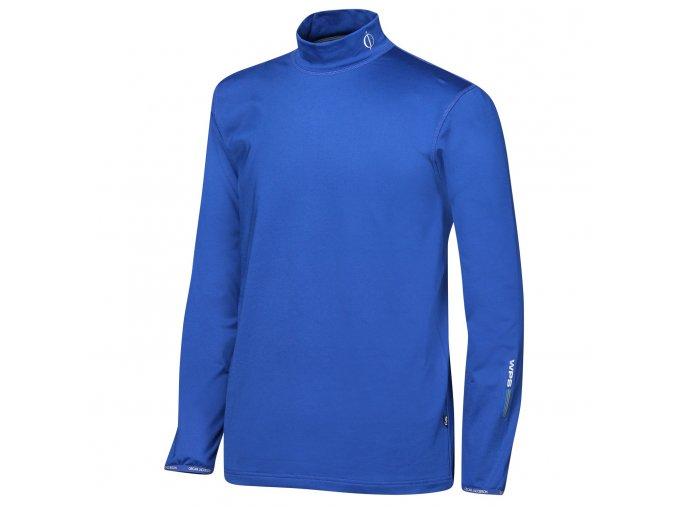 Oscar Jacobson Ron Thermal Rollneck blue 64548925 248 front