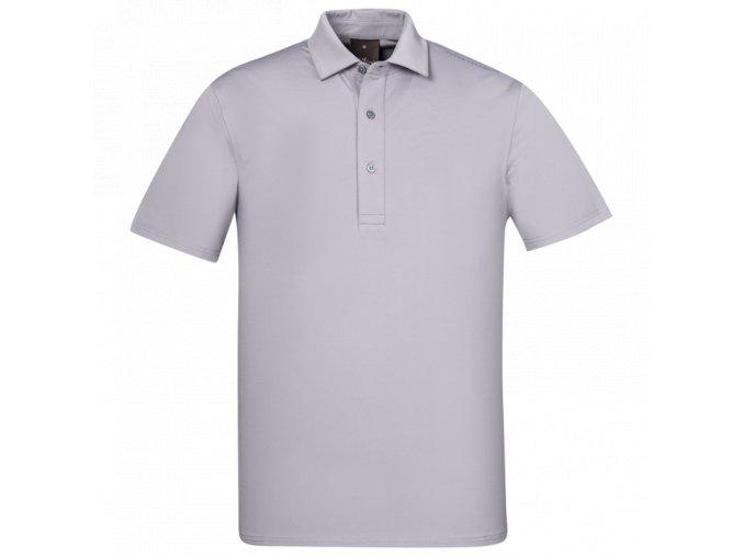 Oscar Jacobson Chap Course Poloshirt grey 66764292 164 front normal