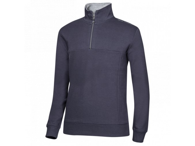 Oscar Jacobson Hawkes Course Half zip blue 68067699 216 front normal