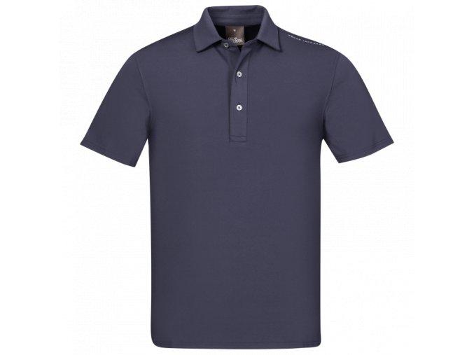 Oscar Jacobson Chap Course Poloshirt blue 66764292 216 front normal