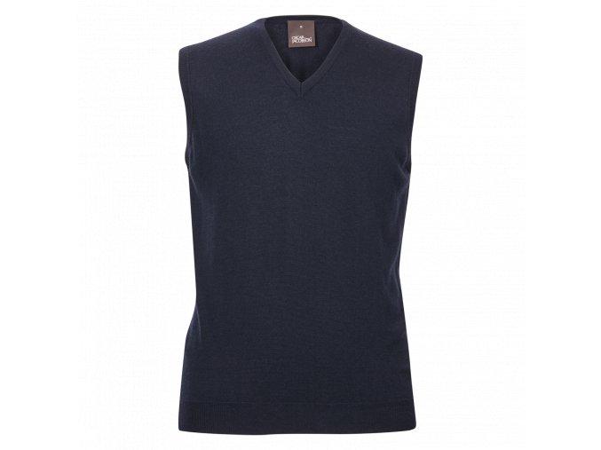 Oscar Jacobson Rutger Slipover blue 65636768 211 front