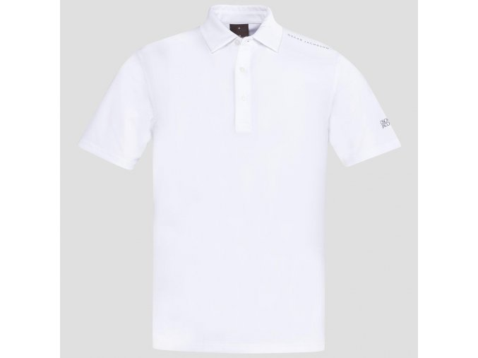 Oscar Jacobson Chap Course Poloshirt white 66764292 916 front large