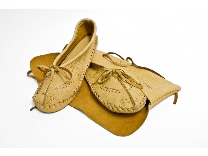 deerskin slipper