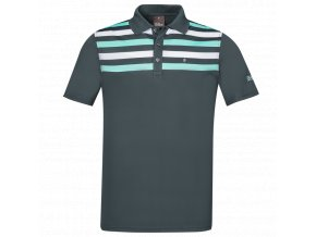 Oscar Jacobson Domingo Pin Poloshirt blue 63193039 210 front normal